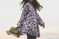 Free stock photo of clothing, fashion model, outerwear, kimono Royalty Free Stock Photography