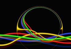 Free stock photo of light, line, circle, computer wallpaper Stock Images