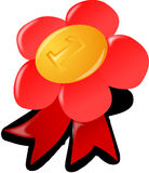 Free stock photo of red, flower, orange, clip art Royalty Free Stock Photography