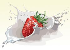 Free stock photo of strawberry, strawberries, fruit, produce Royalty Free Stock Images