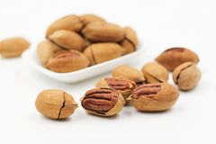 Free stock photo of tree nuts, nuts & seeds, nut, food Royalty Free Stock Image