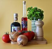 Free stock photo of vegetable, still life photography, liqueur, still life Royalty Free Stock Photo