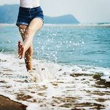 Free stock photo of water, sea, body of water, beach Royalty Free Stock Images
