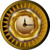 Free stock photo of yellow, clock, circle, wall clock Stock Images