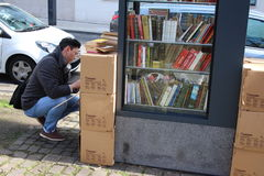 Free street library Royalty Free Stock Photography