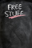 Free stuff background Royalty Free Stock Image