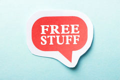 Free Stuff Royalty Free Stock Photography