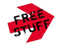 Free stuff stamp Stock Photography