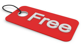 Free tag Royalty Free Stock Photography