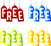 Free tags Royalty Free Stock Photo