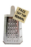 Free tattoo removal Royalty Free Stock Image