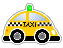 Free taxi Royalty Free Stock Photography