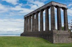 Free tenant le monument national, Edimbourg, Ecosse, R-U images libres de droits