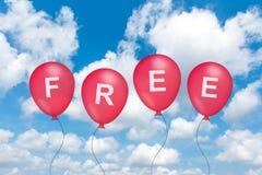 Free text on balloon Royalty Free Stock Image