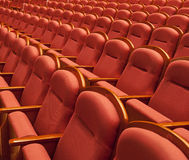 Free theater seats Royalty Free Stock Image
