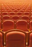 Free theater seats Stock Photos