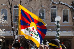 Free Tibet March Stock Photography