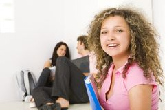 Free time between classes royalty free stock image