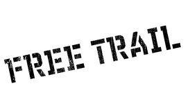Free Trail rubber stamp Stock Photography
