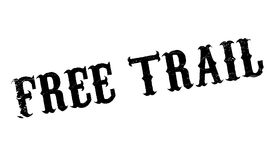 Free Trail rubber stamp Stock Image