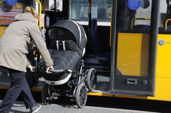 FREE TRANPORTATION FOR BABY CARTS Stock Photos