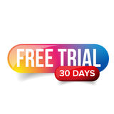 Free trial - 30 days Royalty Free Stock Photography