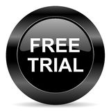 Free trial icon Stock Images
