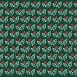 Free tropical leaf roses pattern seamless background vector stock illustration