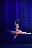 """Free and unrestrained- ballet """"One Thousand and One Nights"""" Royalty Free Stock Photography"""