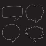 Free Vector Hand drawn bubbles speech Stock Images