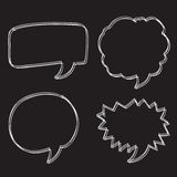 Free Vector Hand drawn bubbles speech Stock Photo