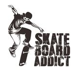 Free Vector Skate Board Player Illustrations royalty free illustration