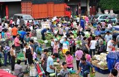 Free vegetable market Stock Image