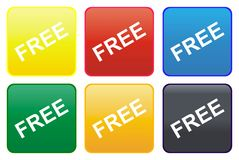 Free web button royalty free stock images