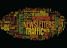 Free Web Site Traffic Sources Text Background  Word Cloud Concept Stock Photography