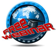 Free Webinar Icon Web-based Seminar Royalty Free Stock Photo