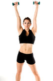 Free Weight Work Out royalty free stock images