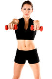 Free Weight Work Out Royalty Free Stock Image