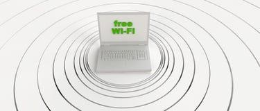Free wi-fi Stock Image