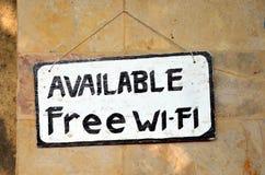 Free wi-fi Royalty Free Stock Photo