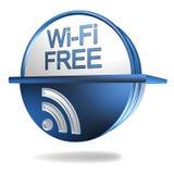 Free wi fi sign Royalty Free Stock Image