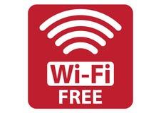 Free Wi-Fi sign Stock Photo