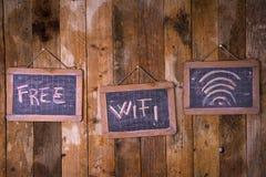 Free wi-fi zone Stock Photography