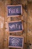 Free wi-fi zone Royalty Free Stock Photography