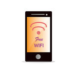 Free wifi icon Stock Images