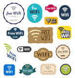 Free Wifi sign Stock Image