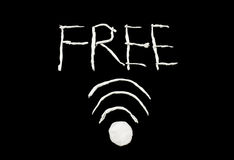 Free Wifi Symbol Stock Images