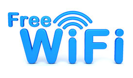 Free WiFi symbol Royalty Free Stock Images
