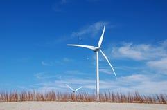 Free wind energy at seaside Stock Photo