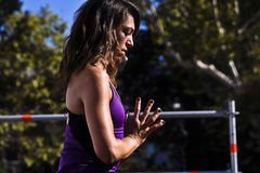 Free Yoga Master Class by Lauren Imparato Stock Images